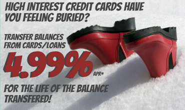 High Interest Credit Cards banner